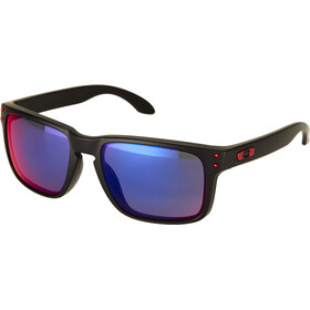 Oakley Holbrook Occhiali da sole, matte black/positive red iridium